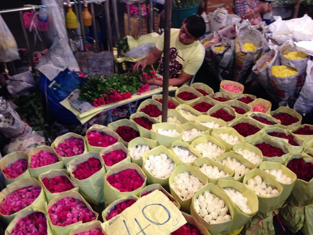 Bangkok Flower Market, kreuzfahrten-blogger.de
