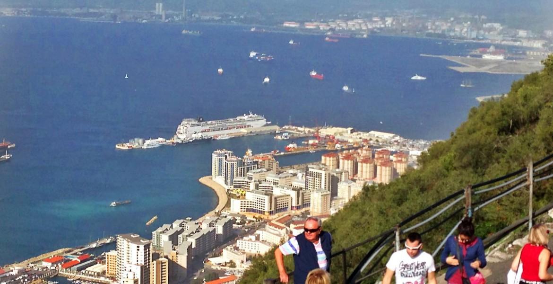 Gibraltar Sehenswurdigkeiten Karte.Gibraltar Wie Kommt Man Vom Kreuzfahrthafen In Die Stadt