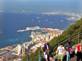 Gibraltar – Wie kommt man vom Kreuzfahrthafen in die Stadt?