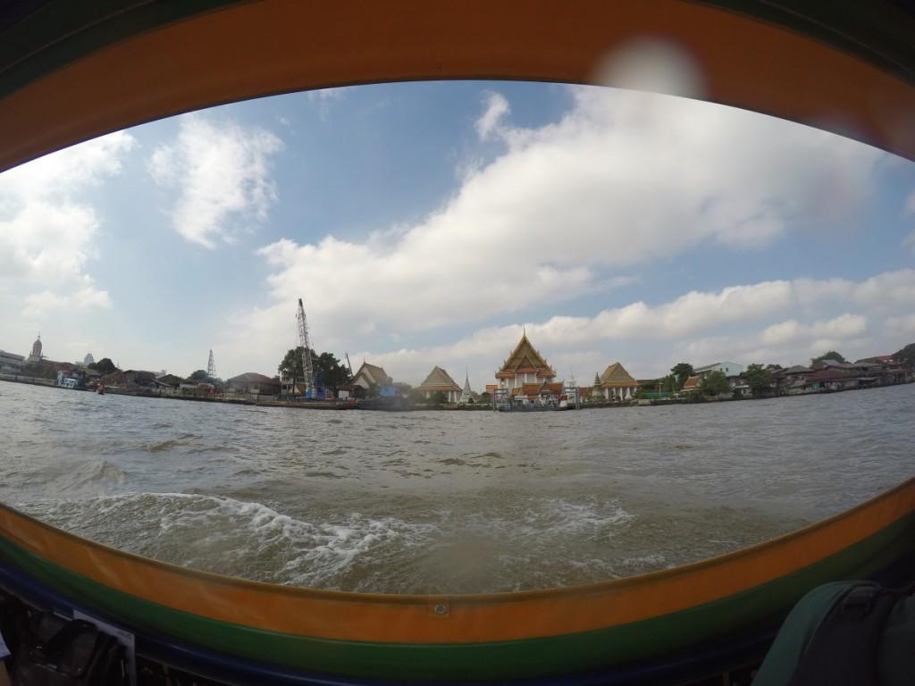 Bootsfahrt nach Wat-Run
