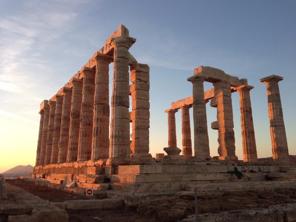 Tempelruine in Griechenland, kreuzfahrten-blogger.de