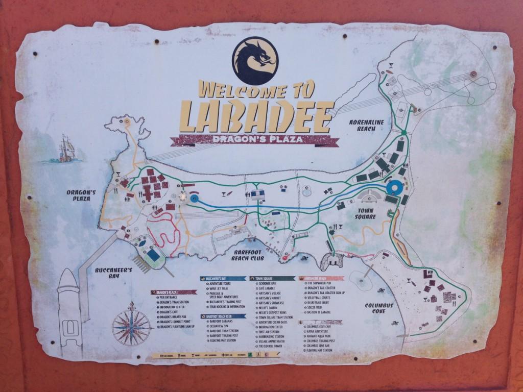 Routenplan Labadee