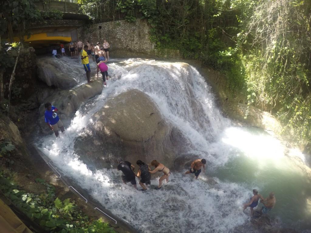 Wasserfall Jamaike