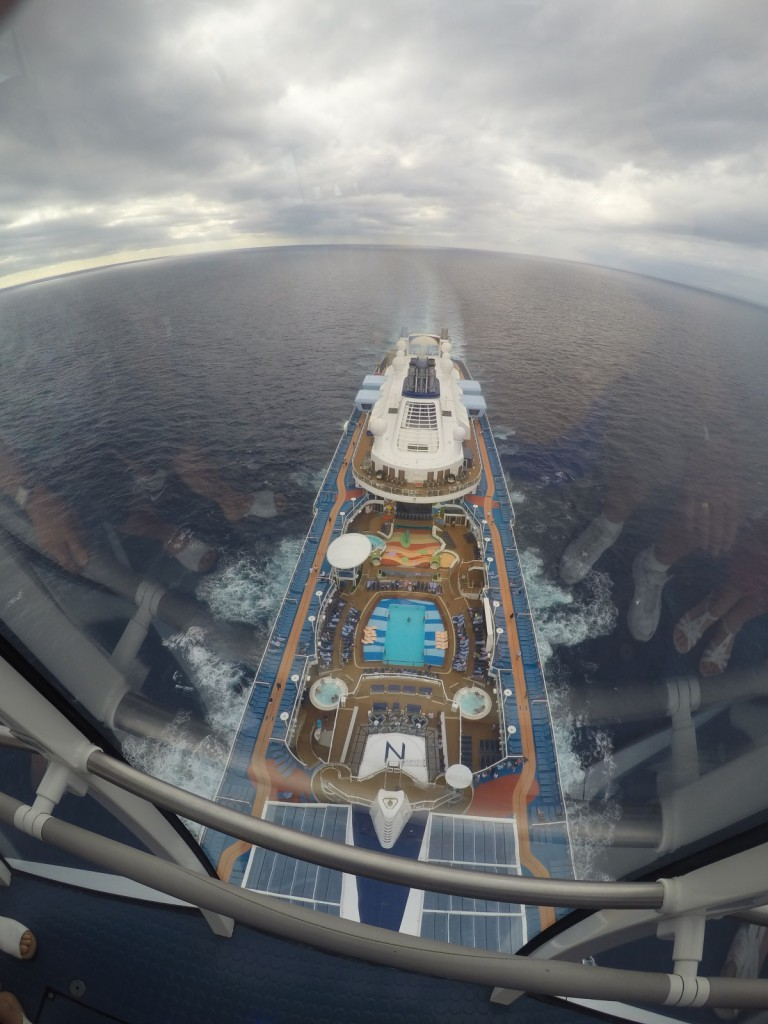 Anthem of the Seas, Vogelperspektive