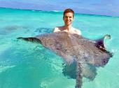 Mit Rochen schwimmen – auf Grand Cayman (George Town)