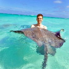 Mit Rochen schwimmen – auf Grand Cayman (George Town)