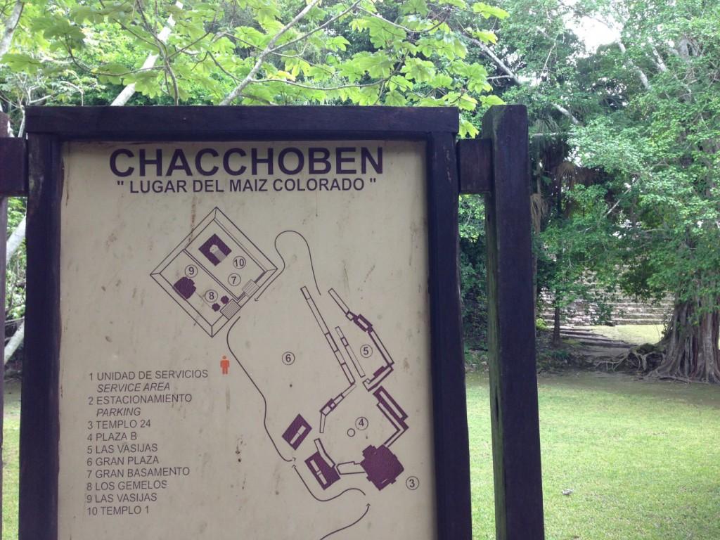 Chacchoben Karte