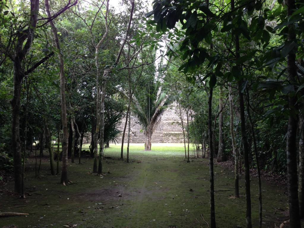 Chacchoben Maya-Ruine