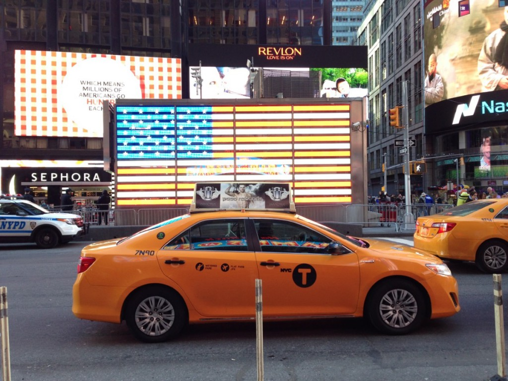 Taxi in Manhatten