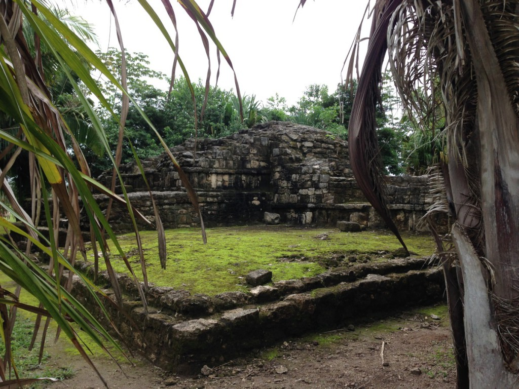 ehemalige mayafestung