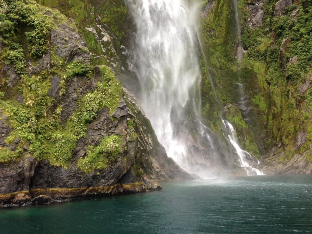 Wasserfall Neuseeland