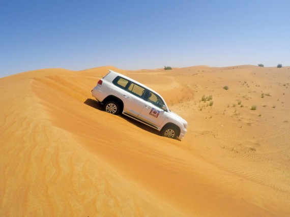 Wüstensafari ab Dubai Kreuzfahrthafen – Dune Bashing?!