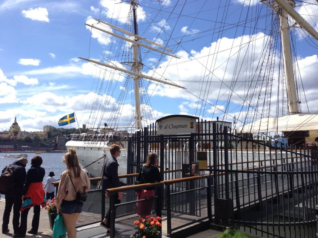 AF Chapman Segelschiff