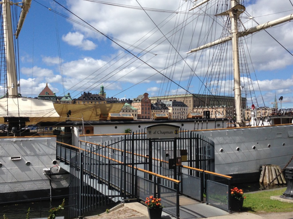 Segelboot Stockholm