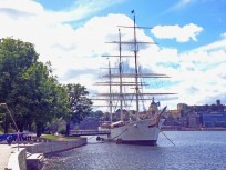 Ein altes Segelschiff als Hostel – AF Chapman in Stockholm