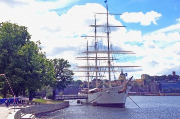Ein altes Segelschiff als Hostel – AF Chapman in Stockholm