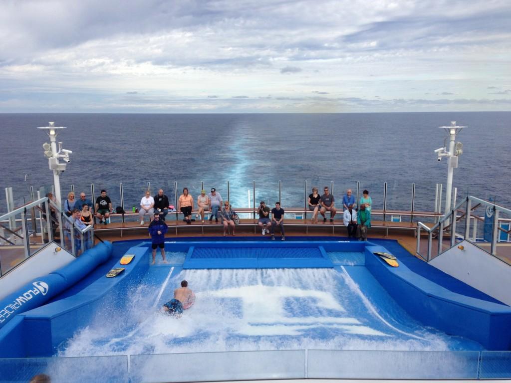 Flow Rider auf Kreuzfahrtschiff