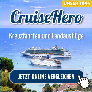 finde den besten Preis für deine Kreuzfahrt - CruiseHero.de
