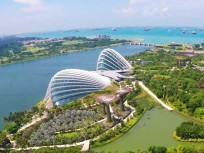 Gardens by the Bay – um die Ecke vom Singapur Kreuzfahrthafen