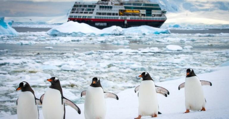 Arktis Kreuzfahrten mit Hurtigruten