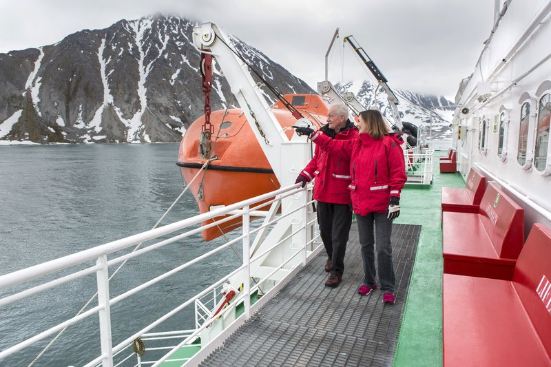 Svalbard Expeditionsschiff