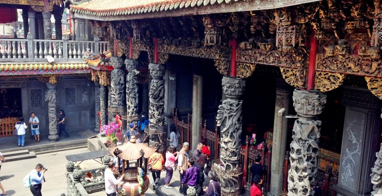 Tempel in Taipeh