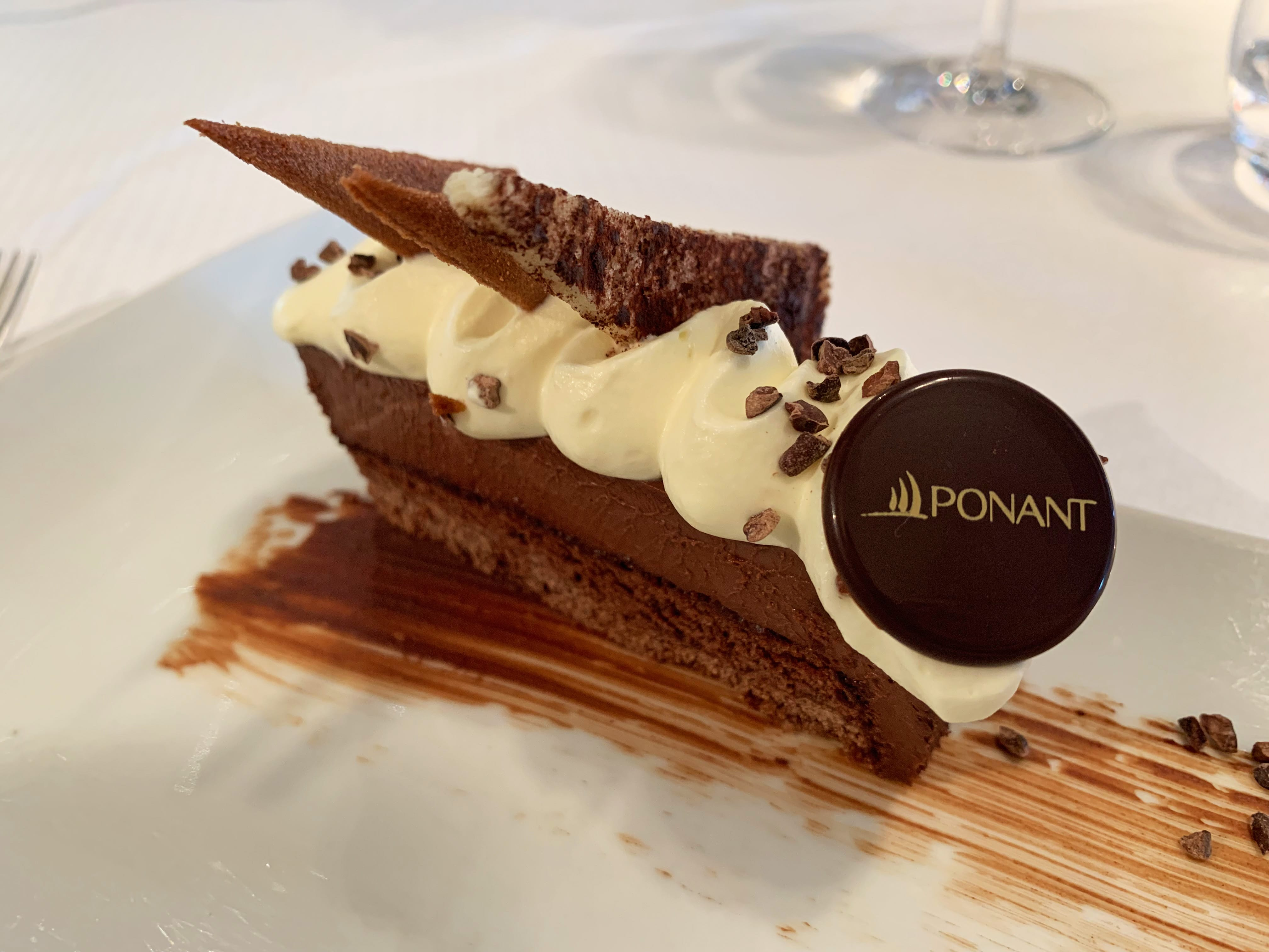 Dessert à la Ponant